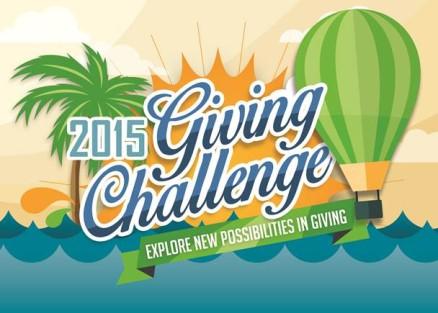 Giving Challenge 2015