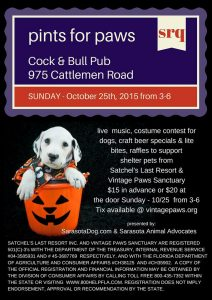 Pints for Paws SRQ